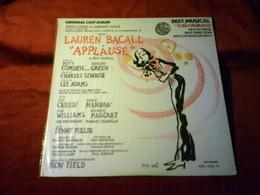 LAUREN BACALL  IN APPLAUSE    ° ORIGINAL CAST ALBUM  BEST MUSICAL TONY AWARDS / PRESSAGE USA - Humor, Cabaret
