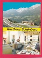 Modern Multi View Post Card Of Rasthaus Schonberg,Stubaital Tirol,Austria.,L67. - Austria