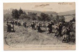 La Grande Guerre 1914  - Infanterie Française Déployée Dans Les Vignes Aux Environs De Reims - Animée - 1914 (I72) - Guerre 1914-18
