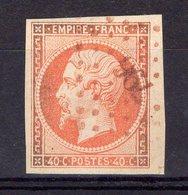 N°16, Oblitération PC Rouge (796), Cote 270€ - 1853-1860 Napoleon III