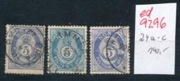 Norge  Nr. 24 A-c     (ed9296  ) Siehe Scan - Gebraucht