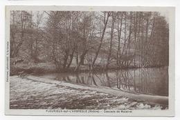 FLEURIEUX SUR L' ARBRESLE - CASCADE DE MALATRET - CPA  VOYAGEE - Francia