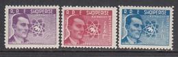 Albania 1959 - Peace Movement, Frederic Joliot-Curie, Mi-Nr. 575/77, MNH** - Albania