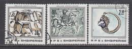 Albania 1989 - Treasures, Mi-Nr. 2388/90, Used - Albania
