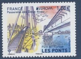N° 5218 Europa Pont De L'Europe Faciale 1,20 € - Nuevos