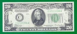 "United States Fr#2050-E  $20  1934  Philadelfia  ""Mule""  UNC - Billets De La Federal Reserve (1928-...)"