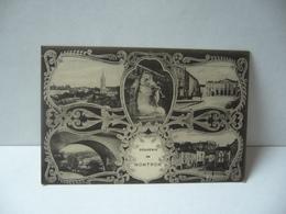 SOUVENIR DE NOTRON 24 DORDOGNE CPA 1918 - Nontron