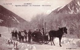 74 - Haute Savoie - CHAMONIX - Sports D Hiver - En Promenade - Ski -k-joering - Chamonix-Mont-Blanc