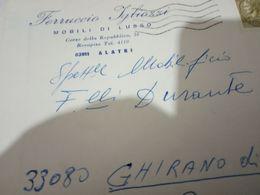 ALATRI  FR  BUSTA DITTA MOBILI IGLIOZZI VB1970 HH2455 - Frosinone