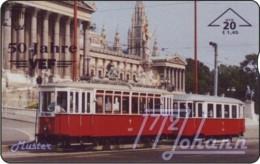 AUSTRIA Private: *VEF, 50 Jahre - Tramway* - SAMPLE [ANK F524] - Oesterreich