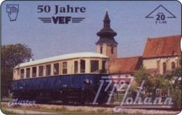AUSTRIA Private: *VEF, 50 Jahre - Eisenbahn* - SAMPLE [ANK F525] - Oostenrijk