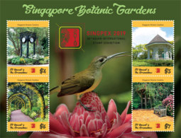 St. Vicnent  2019 Singapore Botanic Garden ,bird  I201903 - St.Vincent & Grenadines