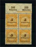 DEUTSCHES REICH 1923 Nr 327 Postfrisch (111595) - Deutschland