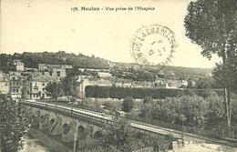 78  MEULAN - VUE PRISE DE L' HOSPICE (ref 7235) - Meulan