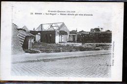 BOHAIN DEGATS DES ALLEMANDS - Francia