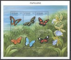 PK280 DE DJIBOUTI FLORA & FAUNA BUTTERFLIES PAPILLONS 1KB MNH - Butterflies
