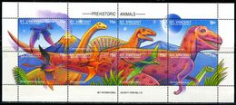 BF0126 Maldives 1994 Triassic Dinosaur Plateosaurus MMNH - Maldives (1965-...)