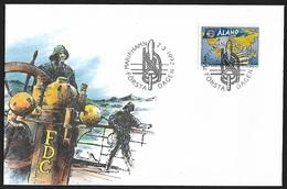 1992 - ALAND - FDC + Michel 55 - Y&T 56 + MARIEHAMN - Aland