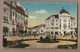 CPA SERBIE - SZABADKA - Szt. Istvan , Ter - TB PLAN Place CENTRE VILLE + Jolie ANIMATION - Serbie