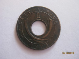 East Africa: 1 Cent 1923 - British Colony