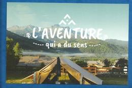 CPM Scoutisme Lot  : Scouts Guides De France L'aventure Qui A Du Sens ( 1 Serie De 4 Cartes Avec 1 Citation  Au Recto ) - Padvinderij