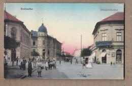 CPA SERBIE - SZABADKA - Damjanich-utca - TB PLAN CENTRE VILLE TB ANIMATION Devanture Magasin - Serbie