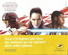 Publicité De Décembre 2017 Présentant Les Produits De La Poste _ Star Wars - Other