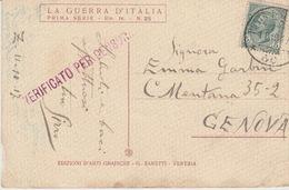 MILITARI -A / 1^ GUERRA MONDIALE 1915/18 - POSTA MILITARE N°50 - Oorlog 1939-45