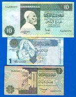 Libye  7  Billets - Libia