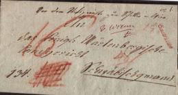 1811 Wien Bf Auf Stempelpaier M. Inhalt Und De Austriche - ...-1850 Prephilately