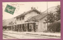 Cpa Nantua La Gare - éditeur Viatalle ? - Nantua