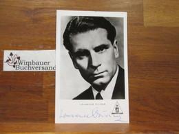Original Autograph Laurence Olivier (1907-1989) /// Autogramm Autograph Signiert Signed Signee - Autographs
