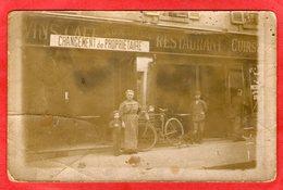 Carte Photo - CAFE - RESTAURANT - - Courbevoie