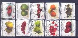 Belgie - 2007  - OBP - 3685/94 - Fruit  - Gestempeld - - Gebraucht