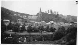 Photo Foto 11 X 6,5 Cm  La Roche En Ardenne Luxembourg  Eglise Et Château  Barry 2800 - La-Roche-en-Ardenne