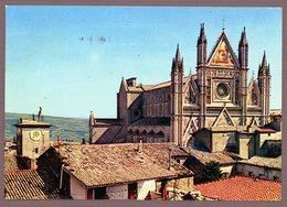 °°° Cartolina - Orvieto Duomo E Torre Di Maurizio Viaggiata °°° - Terni