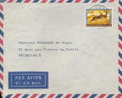 BELGIAN CONGO IMAPALA ON COVER BANANA10.02.60 - Congo Belge