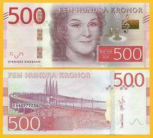 Sweden 500 Kronor P-73 2015 UNC Banknote - Zweden