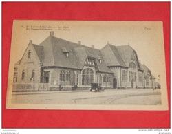 DE PANNE - ADINKERKE - LA PANNE  -  De Statie  - La Gare    -  1926  - - De Panne