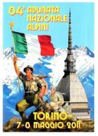 [MD4097] CPM - ALPINI - 84° ADUNATA NAZIONALE - TORINO 2011 - CON ANNULLO 7.5.2011 - PERFETTA - NV - Regiments
