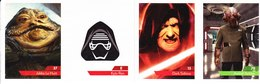 Carte Leclerc 4 Star Wars 2019 2020 N° 37 E 13 70  Maîtriser La Force - Star Wars