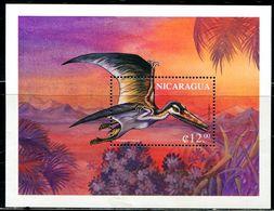 BF0197 Nicaragua 1999 Dinosaur Pterodactyl M MNH - Briefmarken