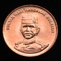 Brunei Darussalam 1 Sen 2005. Asia Coin. UNC Km34 - Brunei
