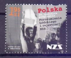 Poland 2011 Mi 4508 Fi 4358 MNH ( ZE4 PLD4508 ) - Polen