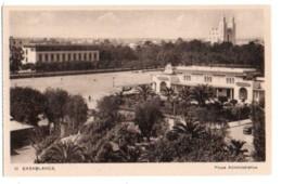 Maroc 008, Casablanca, Edition LM 91, Place Administrative - Casablanca
