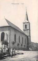 57  .n°  107468 .  Faulquemont .l Eglise .enfants . - Faulquemont