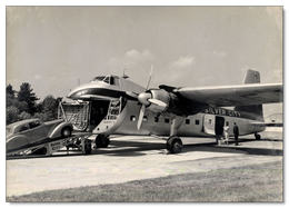 Alvis Car Being Loaded Onto A Bristol 170 Freighter Of Silver-City Airways    -  15x10cms PHOTO - 1946-....: Era Moderna
