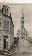 St - Georges  De  Reintembault -   L' église  Et  La  Poste. - Saint Malo