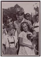 DT- Reich (008263) Propaganda Sammelbild Adolf Hitler Bild 165,Immer Wieder Sieht Man Den Führer Auf Bildern Von Kindern - Deutschland