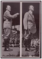 DT- Reich (008269) Propaganda Sammelbild Adolf Hitler Bild 37, Der Redner Adolf Hitler Vor Der Jugend. Reichsparteitag - Deutschland
